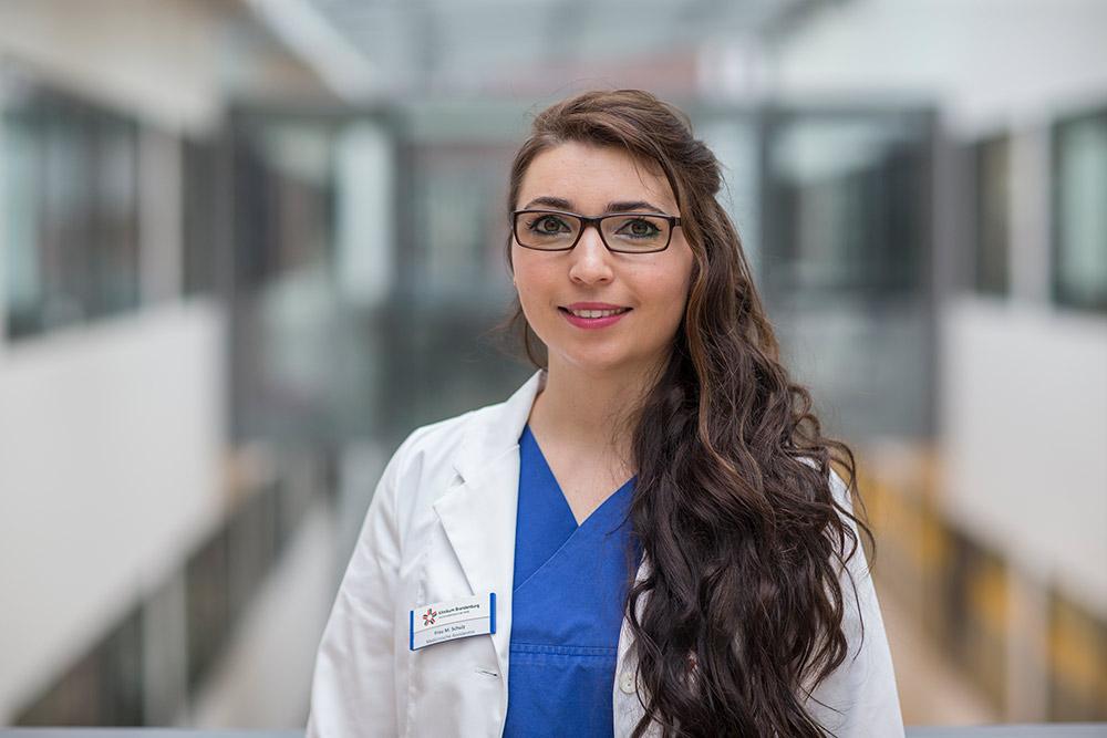 Mareike Schulz Study Nurse Angiologie Campus Brandenburg
