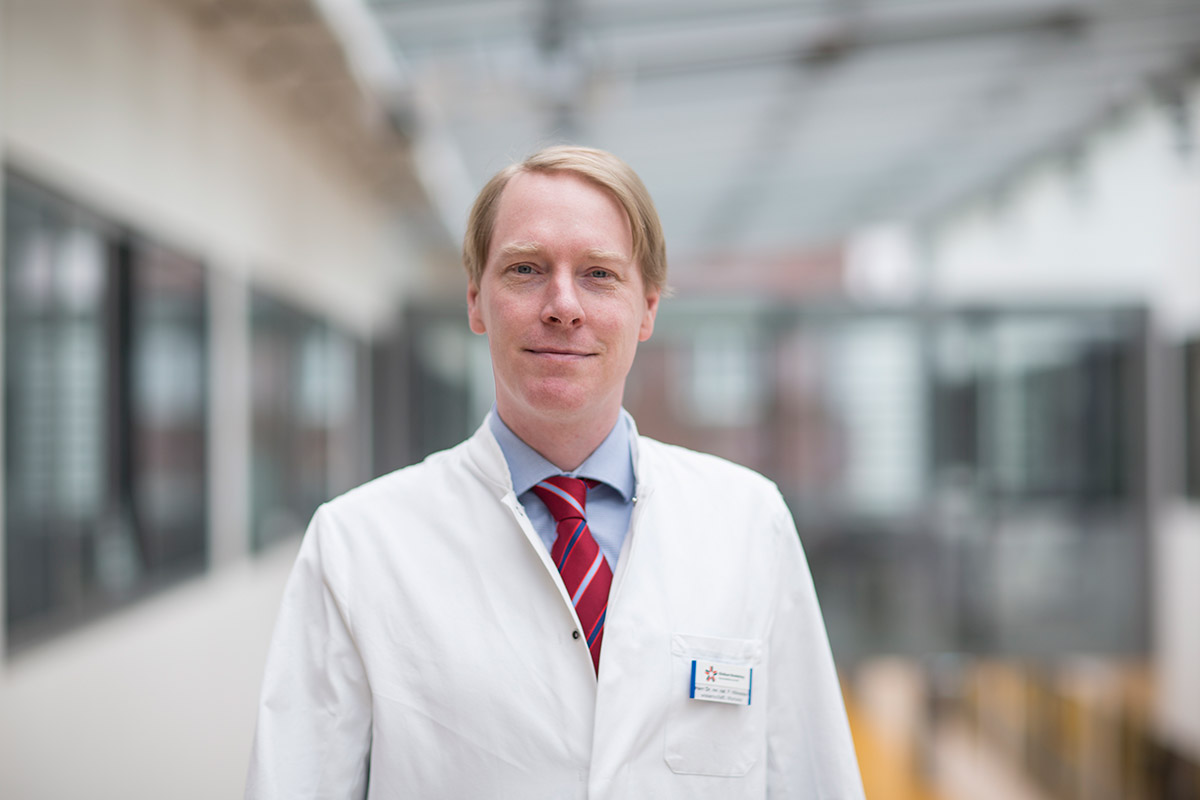 Dr. rer. nat. Philipp Hillmeister Studien- & Forschungsleiter, translationale Forschung