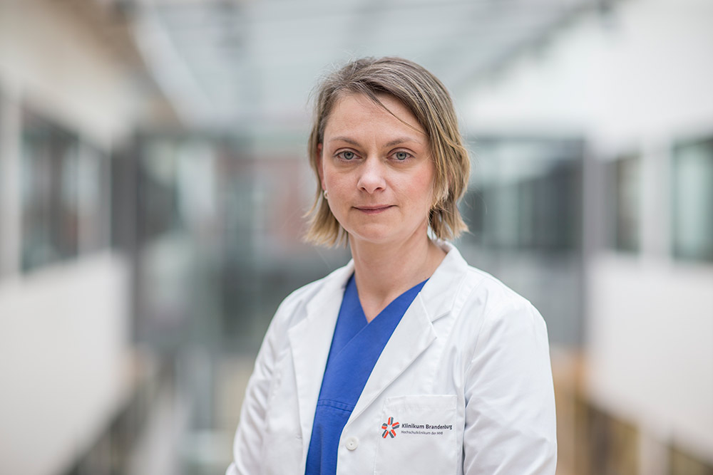 Isabel Handreka Study Nurse Angiologie Campus Brandenburg