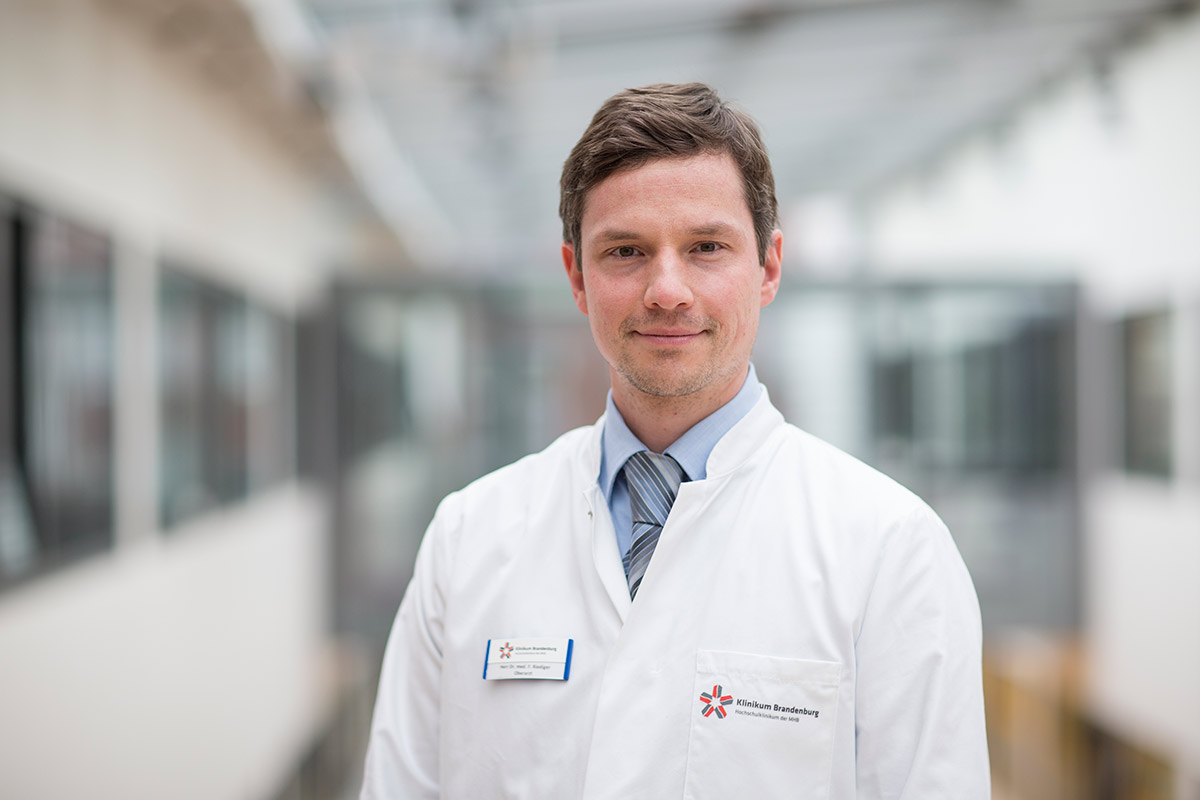 Dr. med. Fabian Riediger Oberarzt/ Facharzt für Innere Medizin Campus Brandenburg
