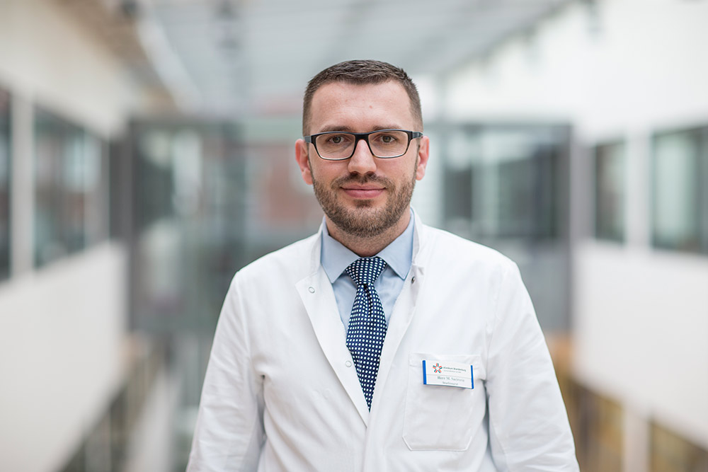 Mesud Sacirovic Studienarzt Angiologie Campus Brandenburg
