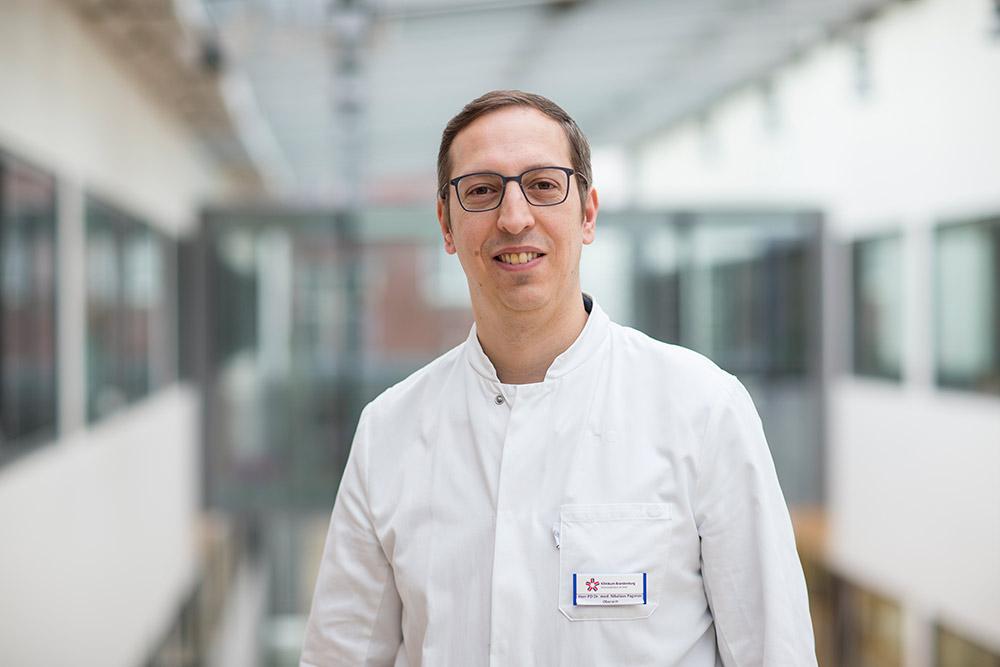 PD Dr. med. Nikolaos Pagonas Oberarzt/ Facharzt für Innere Medizin / Nephrologe Campus Brandenburg