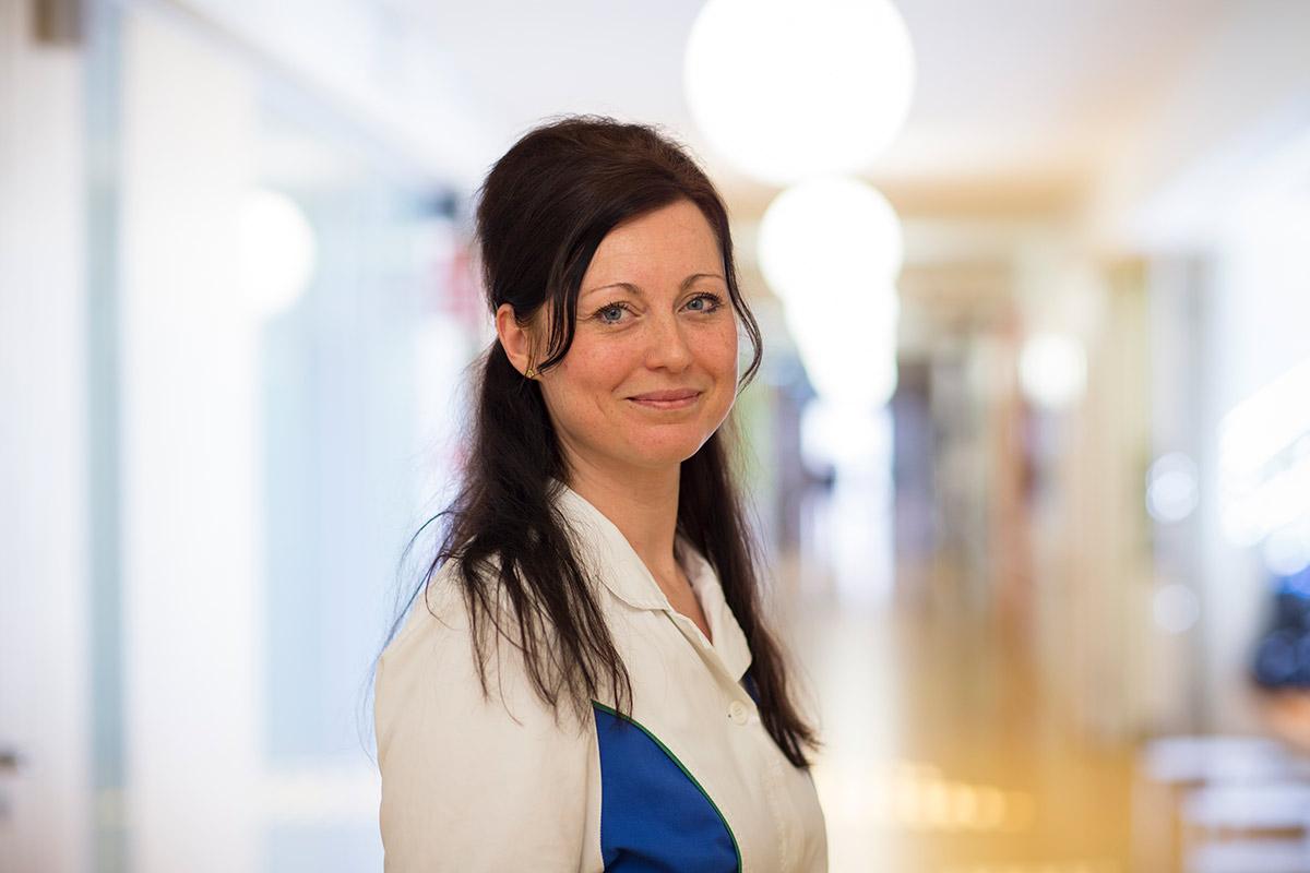 Katrin Aumann Stellvertretende Stationsschwester Campus Brandenburg