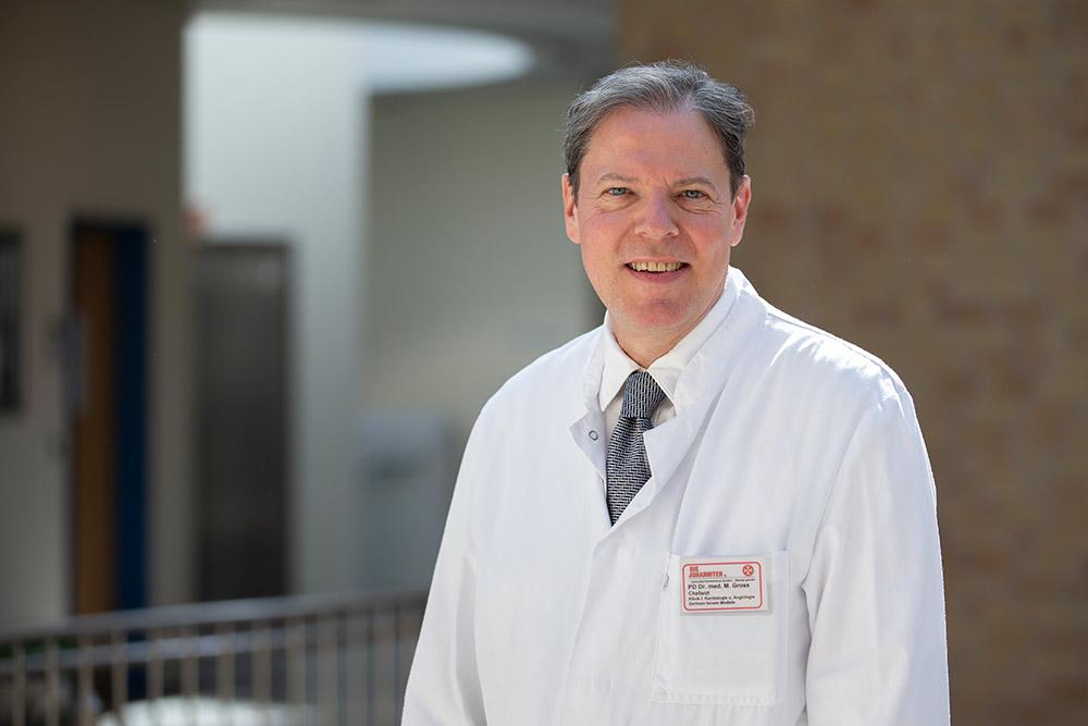 Chefarzt Privatdozent Dr. med. Michael Gross Kardiologie/Angiologie und Rheumatologie