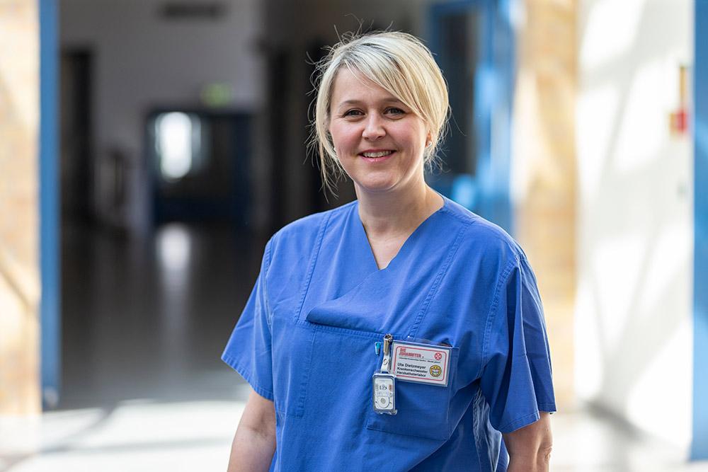 Uta Dietzmeyer Krankenschwester Herzkatheterlabor