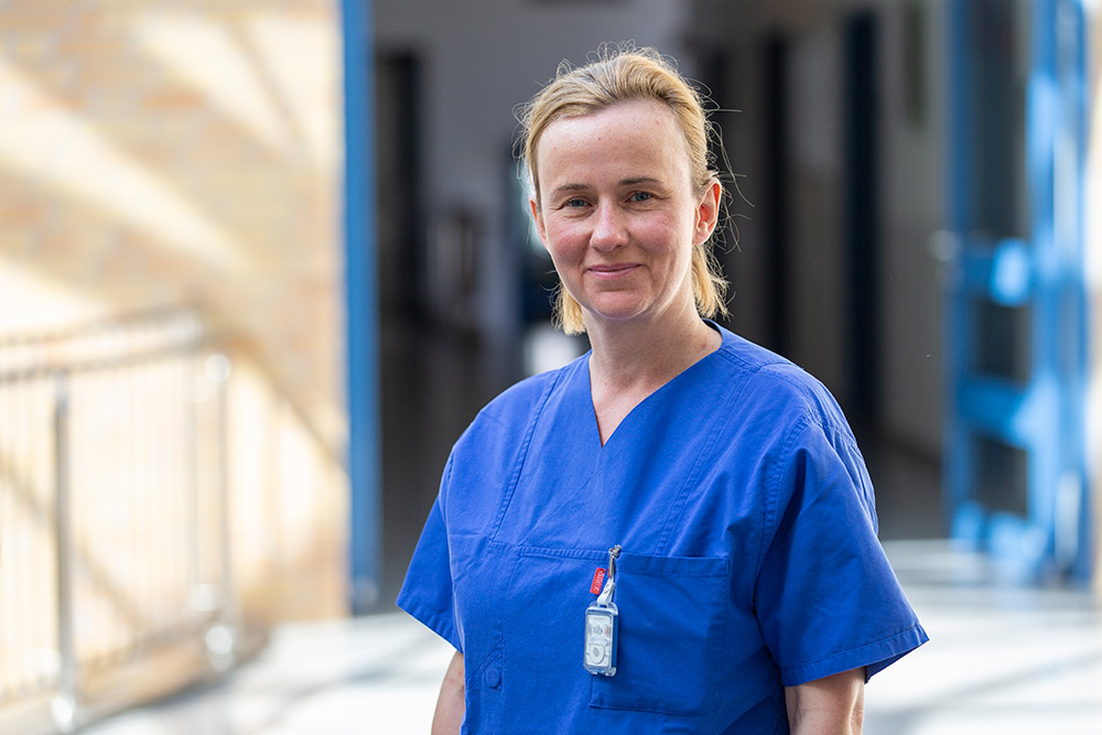Annett Altrock-Arndt Krankenschwester Herzkatheterlabor