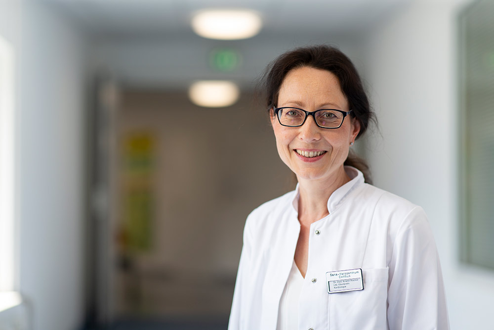 Dr. med. Kristin Rochor Leitende Oberärztin Fachärztin für Innere Medizin und Kardiologie