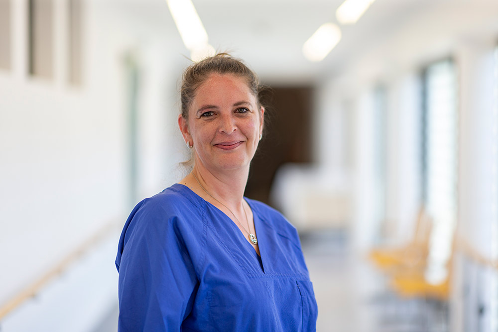 Natascha Kirste Krankenschwester Herzkatheterlabor